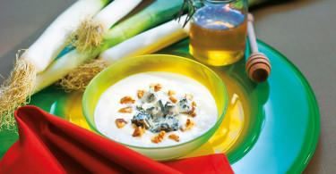 Zuppa-Porri-Patate-Gorgonzola